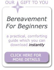 Download our free Bereavement For Beginners guide